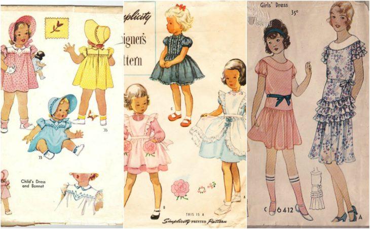 patrones de niñas