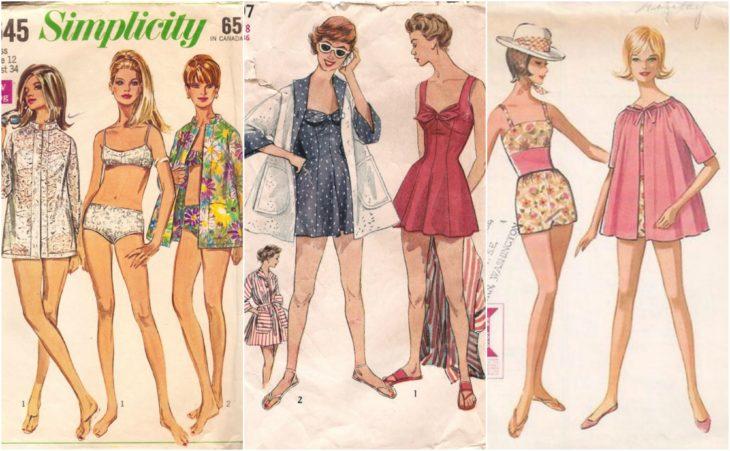 trajes de baño patterns