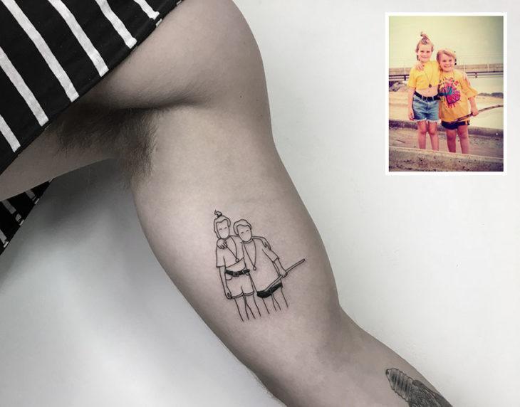 hermanas tattoo