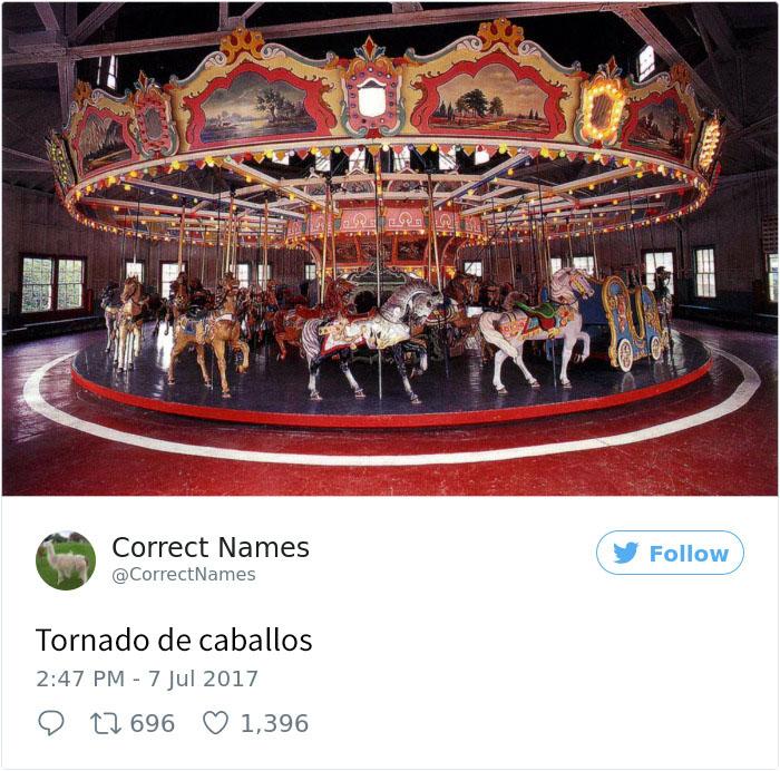 tornado de caballos