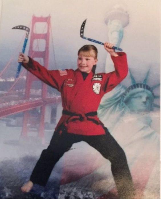 niña karate