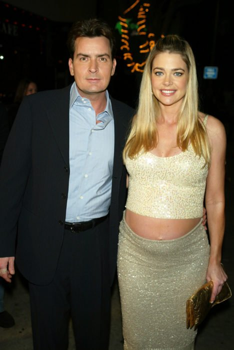 Charlie Sheen y Denisse Richards