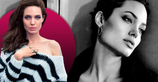 Angelina Jolie sufrió una parálisis facial tras su separación de Brad Pitt