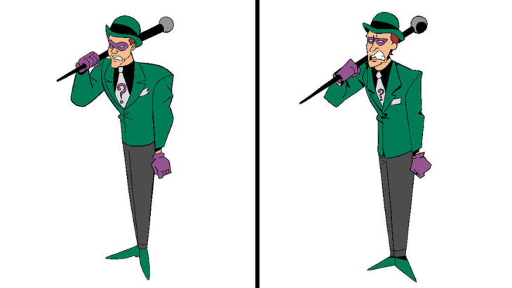 Artista reinventa personajes de dibujos animados