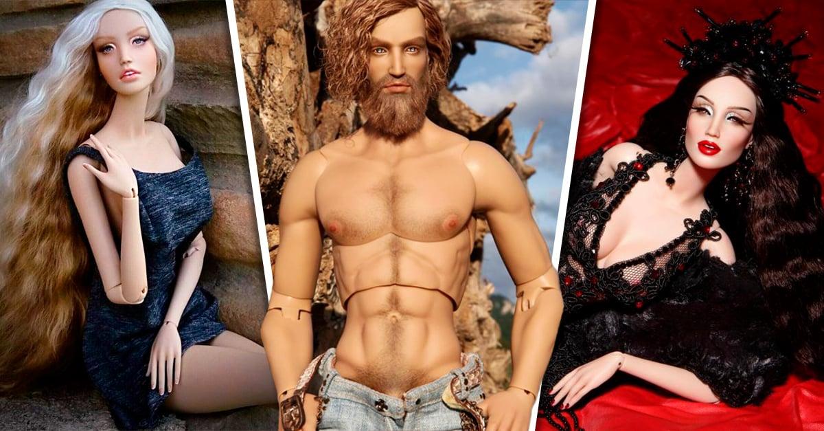 Estos increíbles muñecos realistas fueron creados para ser modelos de moda