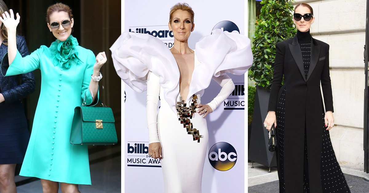 15 Momentos en los que Celine Dion demostró su increíble amor por la moda