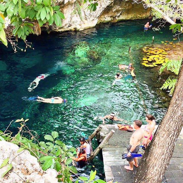 15 piscinas naturales en las que toda chica querr nadar - Piscinas naturales mexico ...