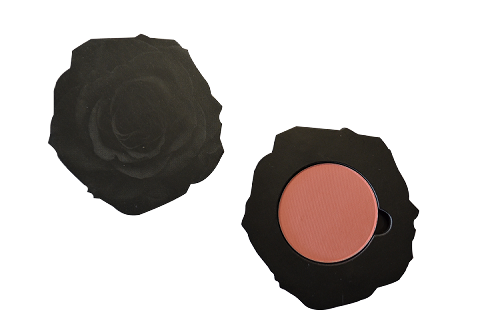 Rosa negra con contour