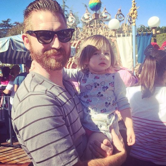 Papá con hijo