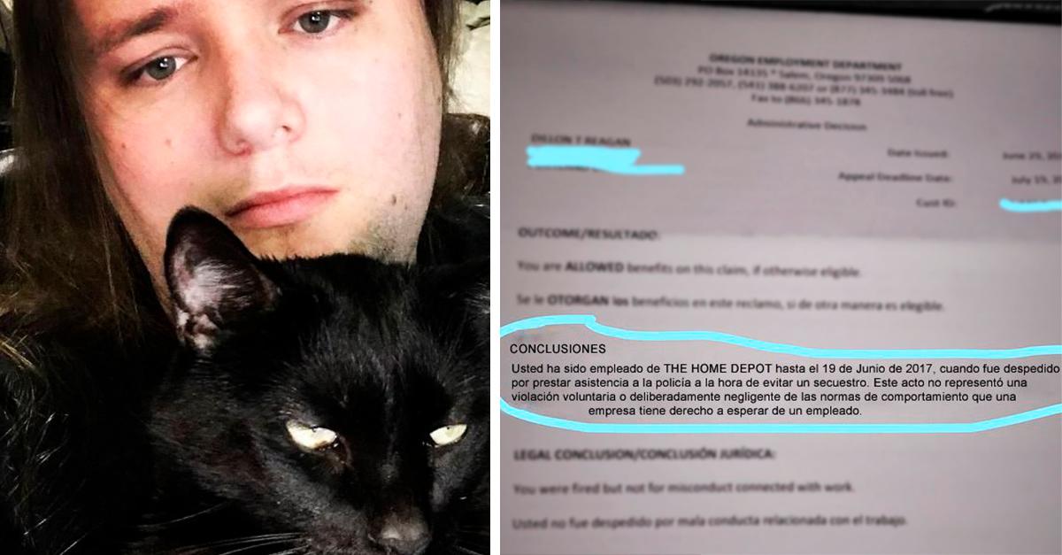 Despiden a este chico por salvar a un niño de ser secuestrado; tenía prohibido moverse de su área de trabajo