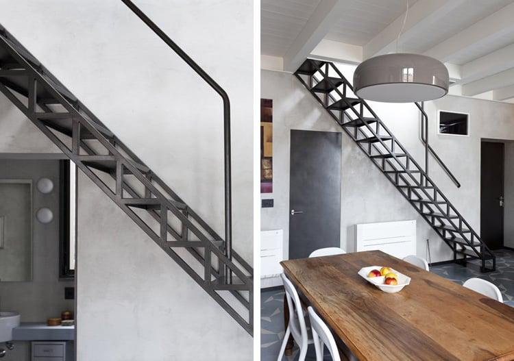 15 incre bles escaleras modernas que te van a fascinar for Escaleras modernas para espacios pequenos