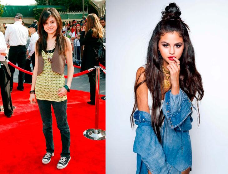 Evolución de las chicas de Disney channel