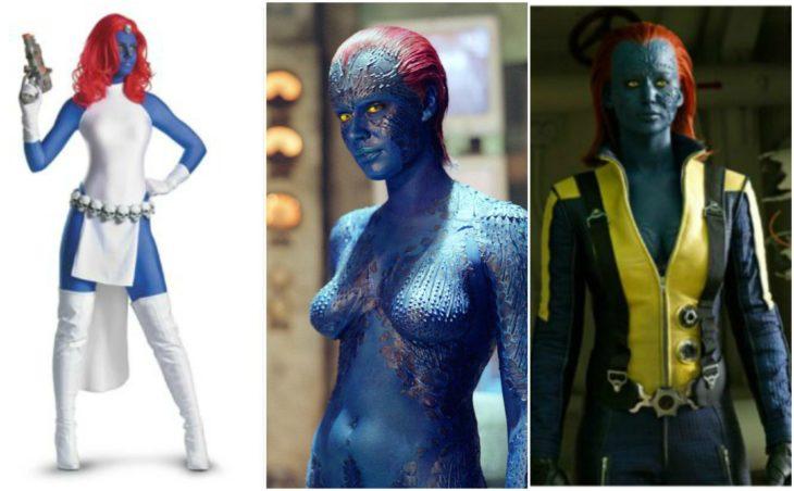 Evolución de outfit X-MEN