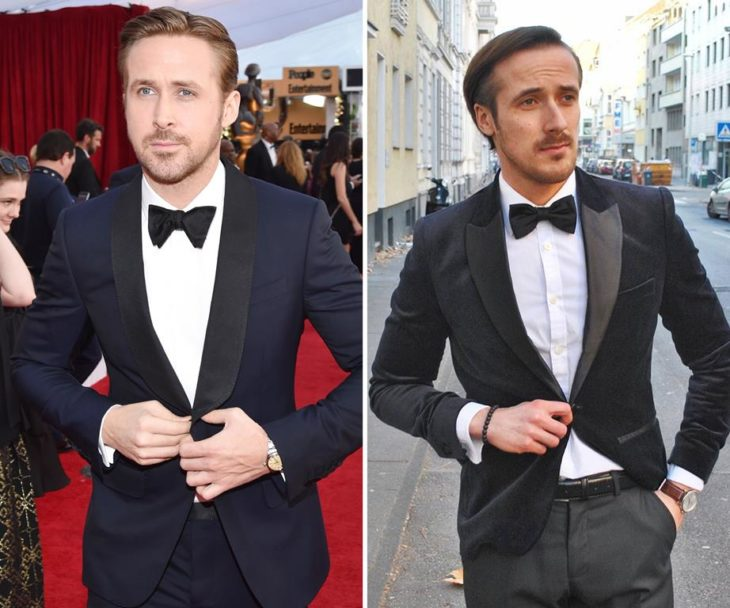 ryan gosling and fake twin