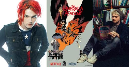Gerard Way realizó algunos cómics, ahora Netflix los llevara a la pantalla
