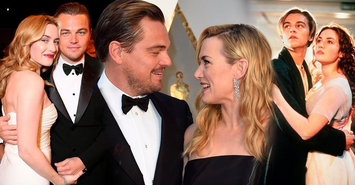 Kate Winslet revela por qué nunca ha salido con Leonardo DiCaprio