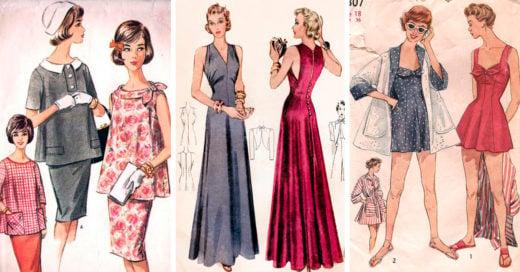 Más de 80 mil patrones de costura estilo Vintage ahora disponibles Online