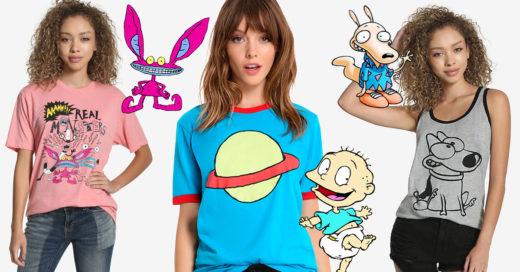 Nickelodeon lanza línea de ropa inspirada en los 90; es lo más fantástico que verás hoy