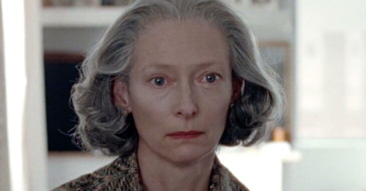 Tilda Swilton en el papel de Rosalind de la película 'The Souvenir' de 2019