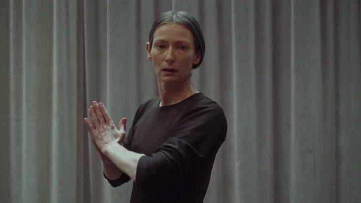 Tilda Swinton en el papel de Madame Veva Blanc de la película 'Suspira' de 2018