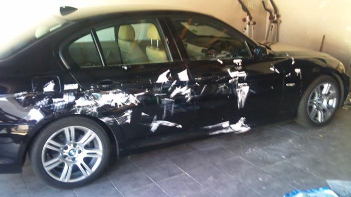 carro pintado