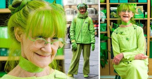 Así es la vida de la señora verde