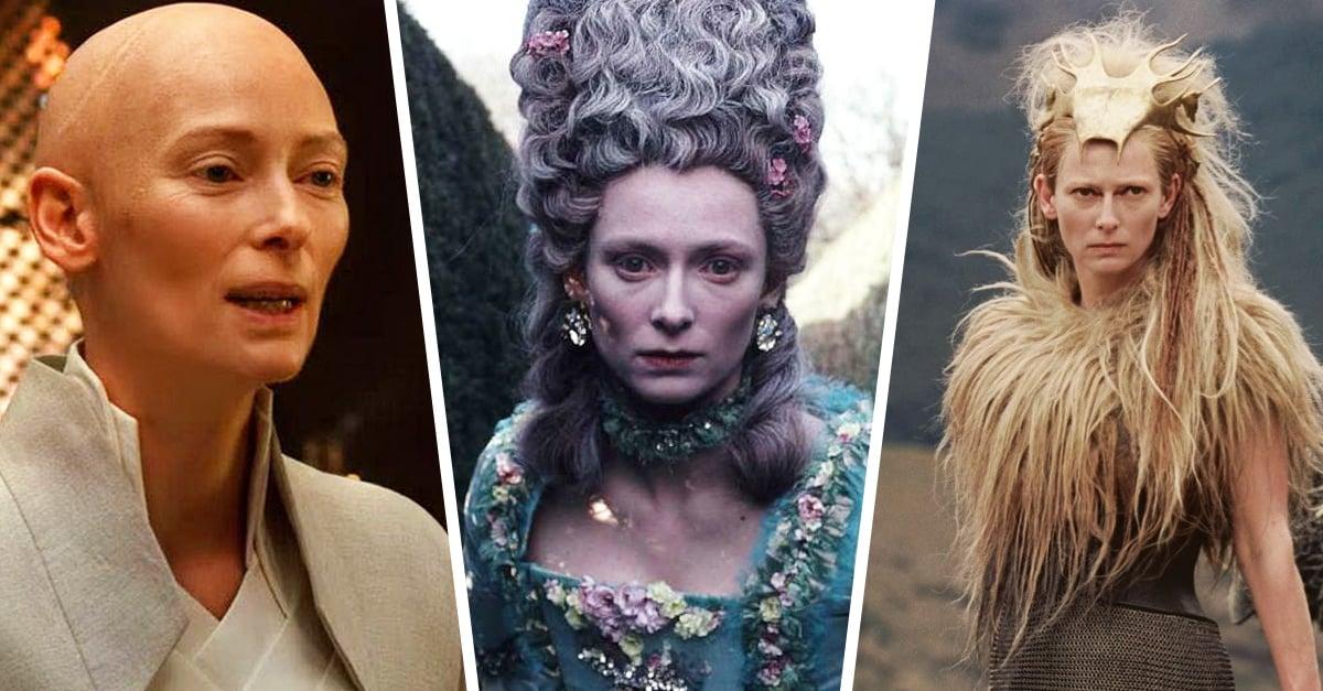 Tilda Swinton, la actriz más camaleónica de nuestra época
