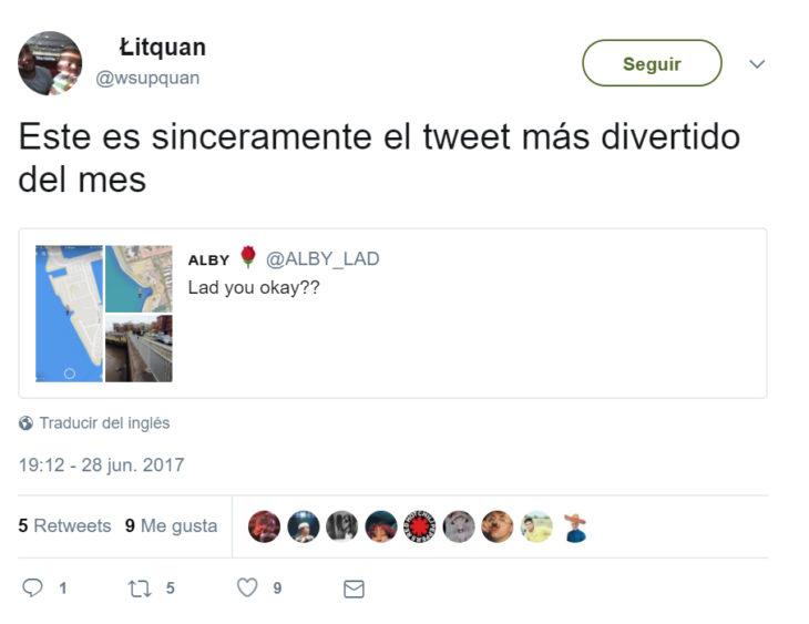 Comentarios en twitter chico que quedó atrapado en el lodo