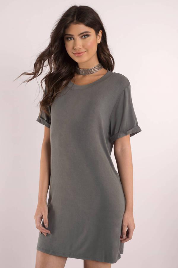 10 vestidos con mangas que debes usar para los d as de calor for T shirt dress outfit tumblr