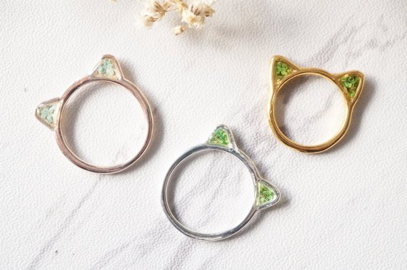 anillos de gatito