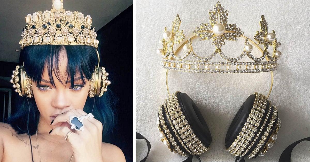 Por fin han creado unos audífonos dignos de una reina