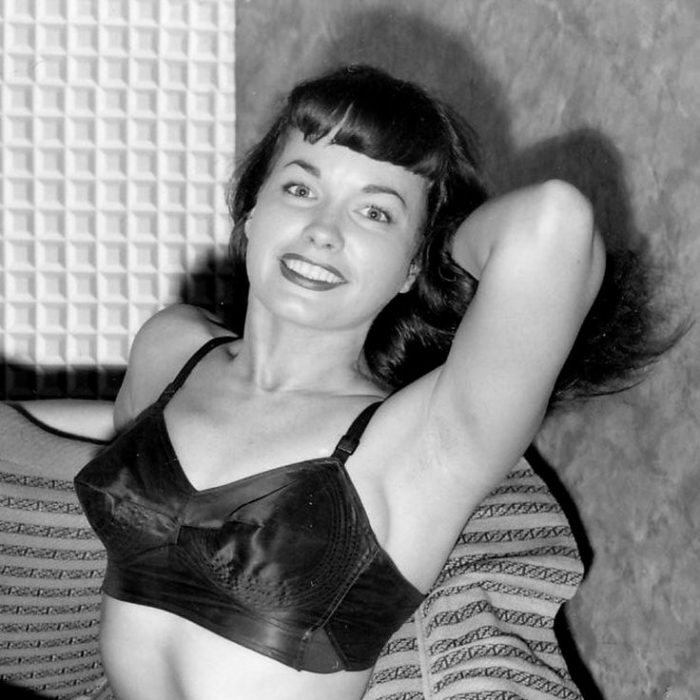betty page bullet bra