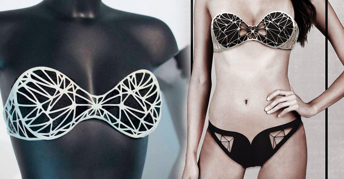 Estos bikinis en 3D lucen hermosos y limpian el mar