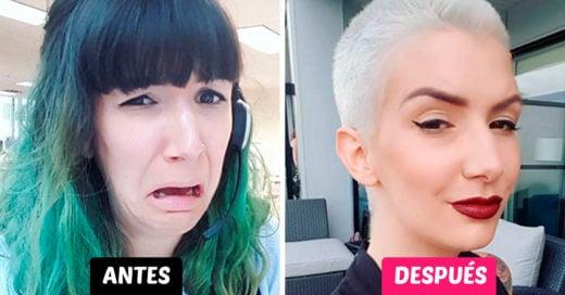 25 Chicas que cambiaron de look tan drásticamente que te dejarán con la boca abierta