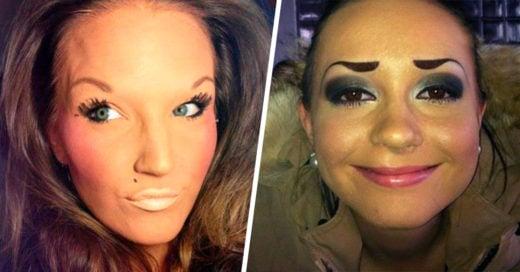 15 Chicas que no tienen idea de como retocar sus cejas