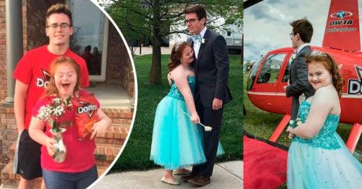 Este chico llevó a su amiga con Síndrome de Down al baile de graduación; Internet aplaude su emotivo gesto