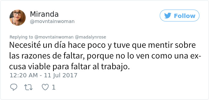 chica toma días salud mental 5