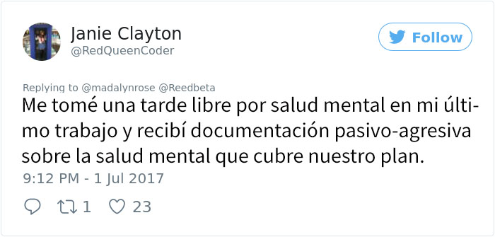 chica toma días salud mental 6