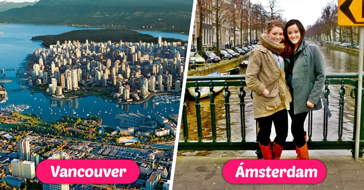Las 10 ciudades que los millennials eligen para empezar una nueva vida
