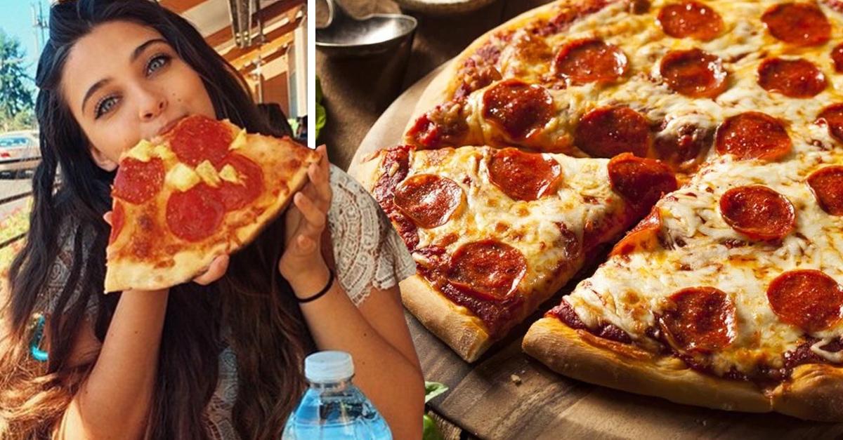 El secreto para comer pizza sin ponerte gorda