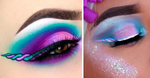 Liner Unicorn la nueva tendencia de maquillaje que está conquistando a Instagram