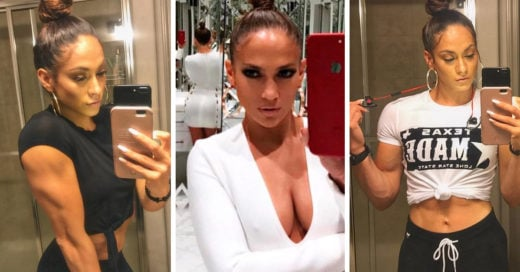 Esta chica es casi idéntica a Jennifer Lopez, solo hay un detalle que las hace diferentes