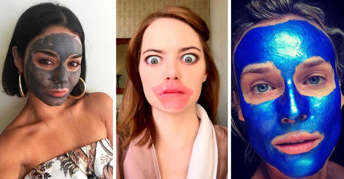Las mejores fotos de las celebridades en mascarilla