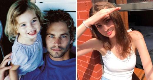 Así luce Meadow, la hija del fallecido Paul Walker ¡no podrás creerlo!
