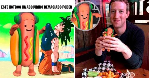 15 Divertidos memes de Completín el hot dog de Snapchat que inunda internet con su gracioso baile