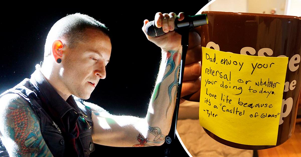 El hijo del vocalista de Linkin Park le deja un conmovedor mensaje: Papi, ama la vida