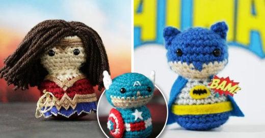 Estos muñecos de crochet están enamorando a todo Internet con su tamaño miniatura