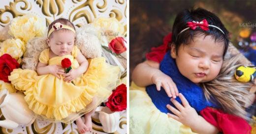 Estas mini princesas son lo más adorable y lindo que verás hoy