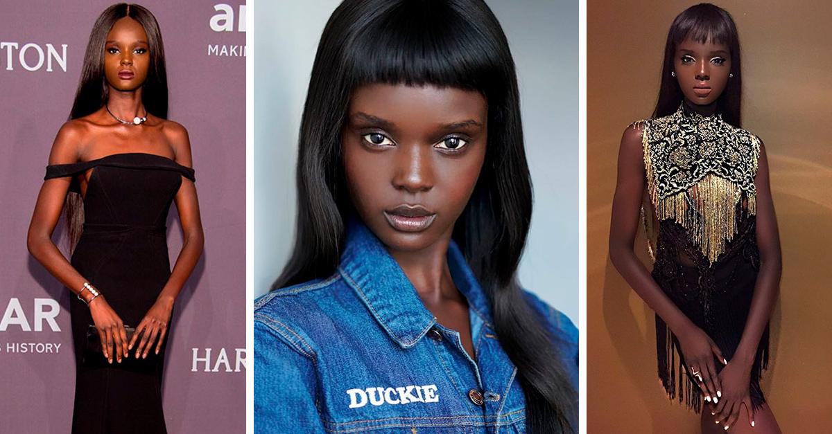 Esta modelo luce exactamente igual que una muñeca Barbie