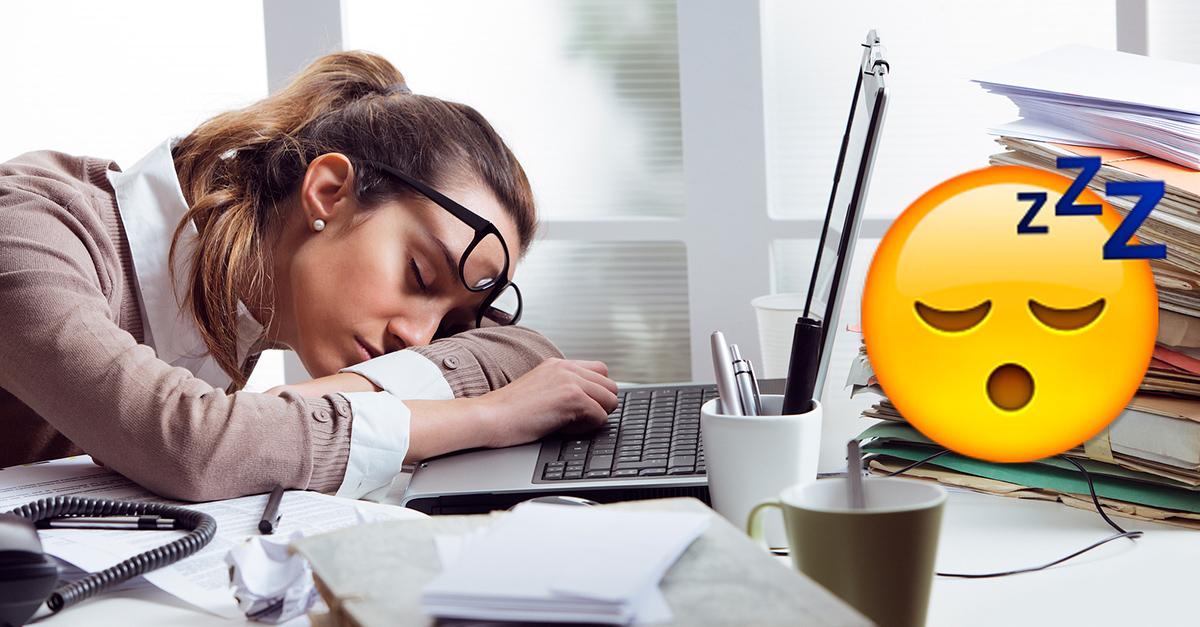 Estudio revela que necesitas dormir 20 minutos en el trabajo